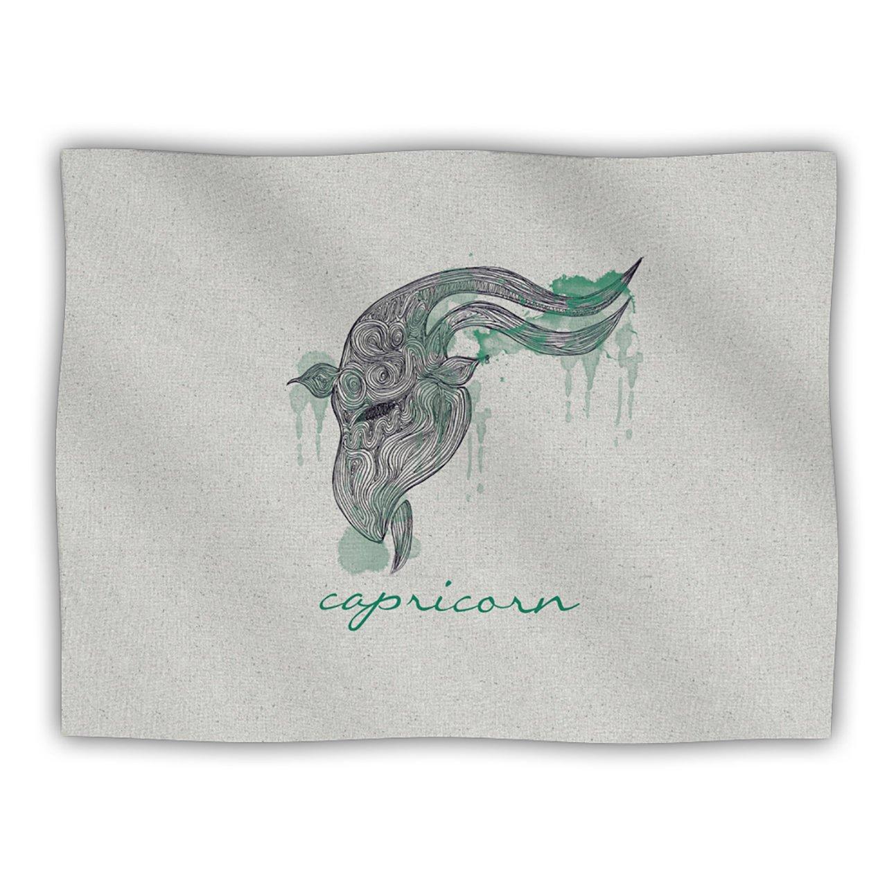Kess InHouse Belinda Gillies Capricorn  Pet Blanket, 40 by 30-Inch