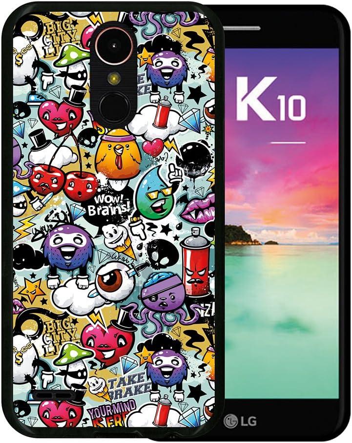 WoowCase Funda para LG K10 2017, [LG K10 2017 ] Silicona Gel ...