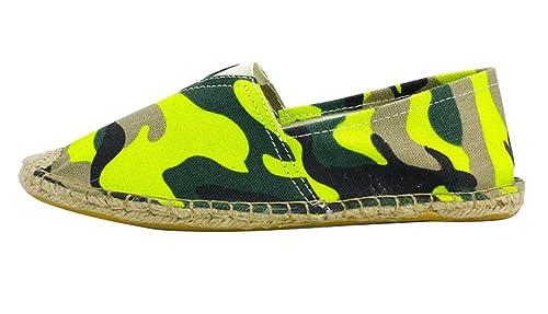Insun Alpargatas para Mujer Lona Vamp Artesanal Suela Cuerda de Yute  Zapatos Moda Ocasionales Loafer  Amazon.es  Zapatos y complementos 4c48b35640a