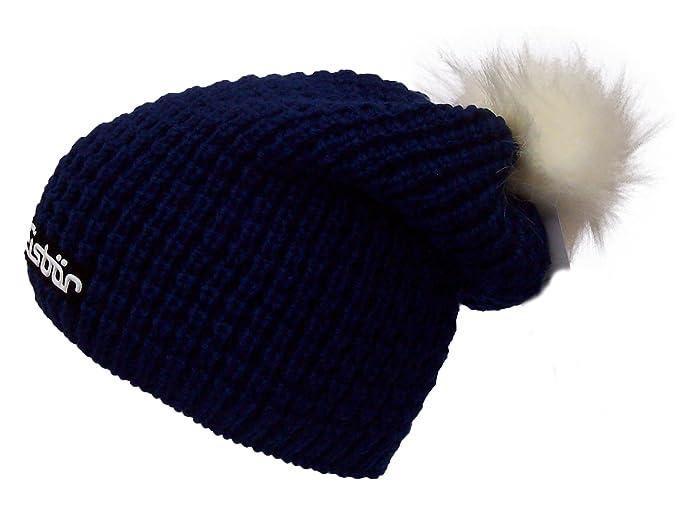 9bd02502a EISBAR Bailey OS LUX MU SP Austrian Merino Wool Winter SKI Hat (Blue ...
