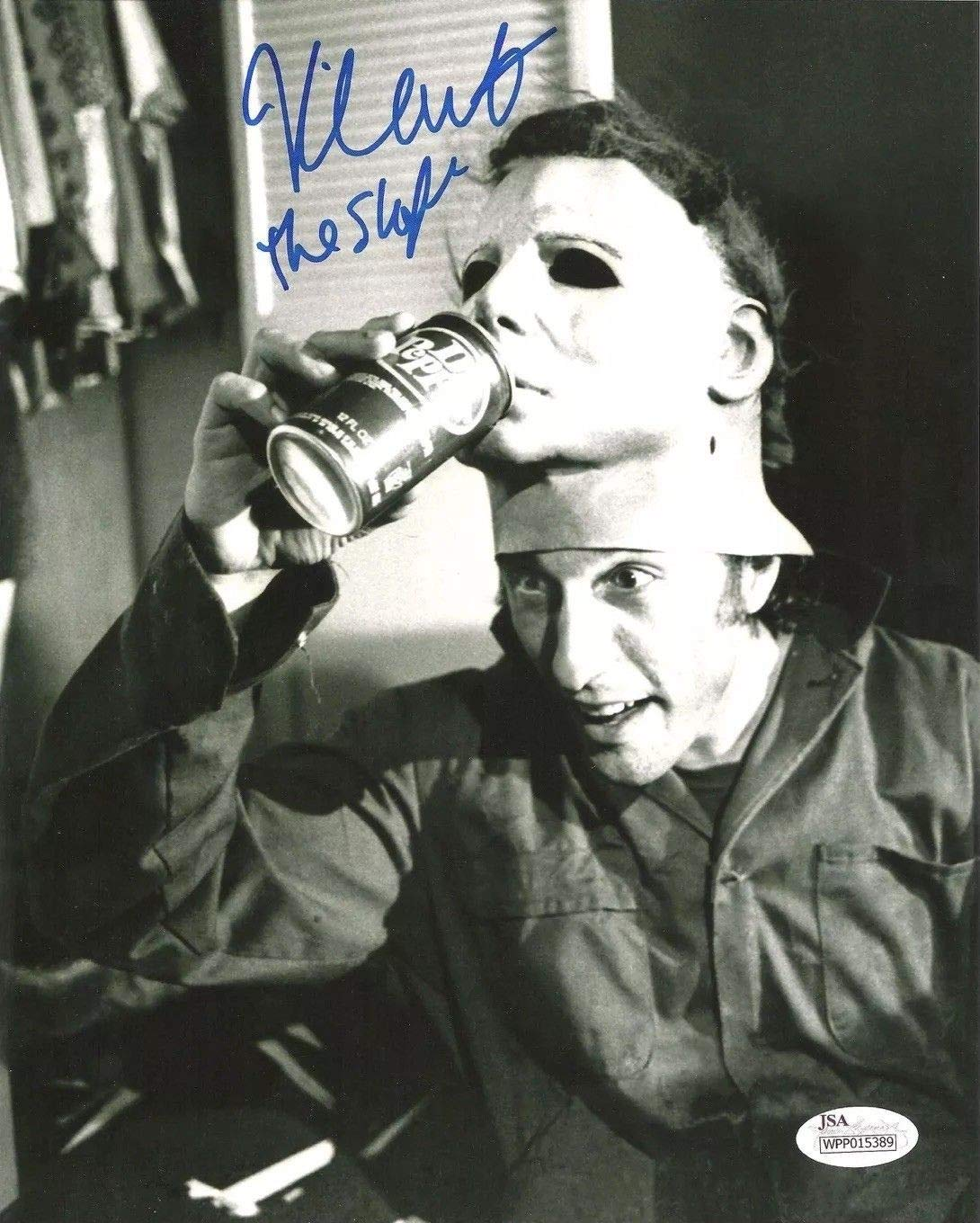 Nick Castle Autographed Signed 8x10 Photo Halloween 1978 Dr Pepper Michael Myers JSA Authentic Witness