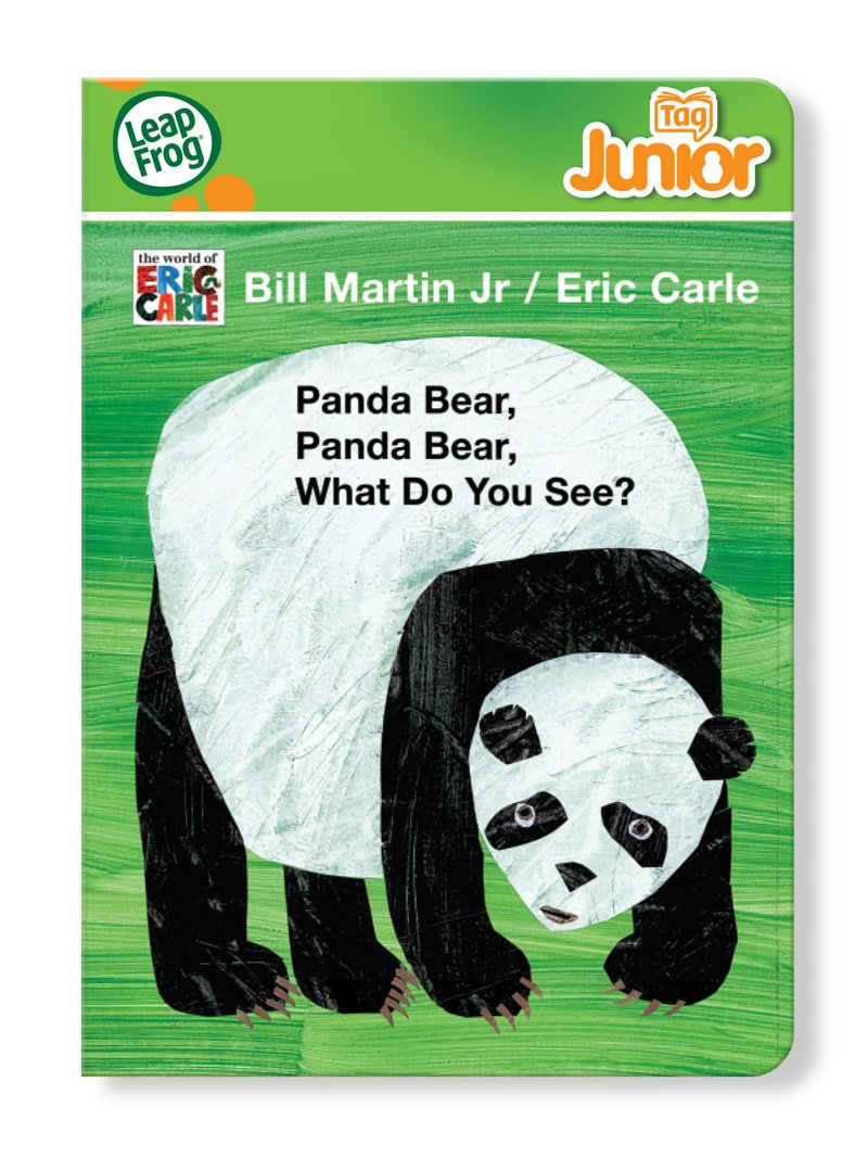 Panda Bear Panda Bear LeapFrog Tag Junior Book 80-21115E What Do You See