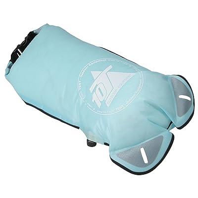 10T WPC Sac de compression étanche à l'eau , 15 litres, bleu