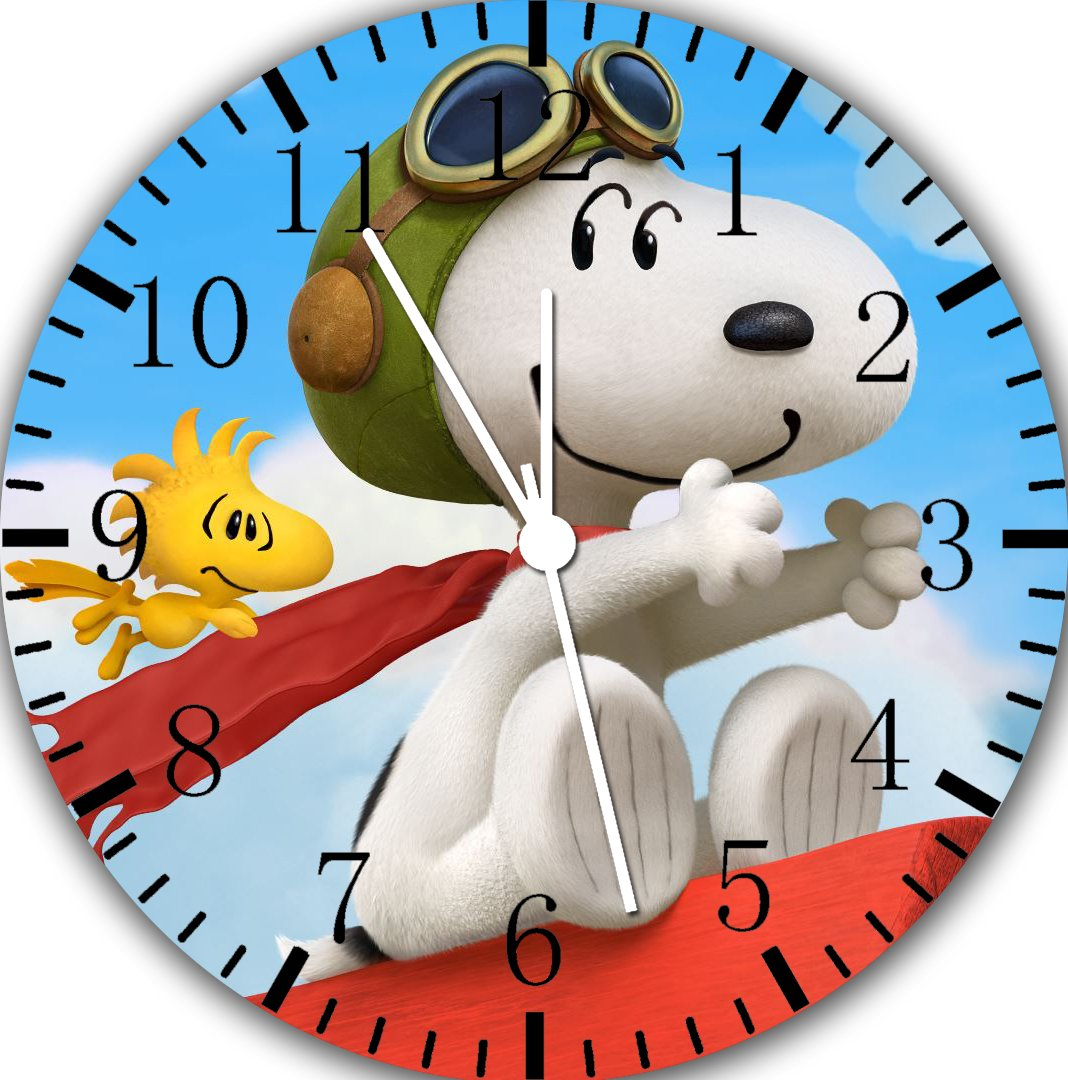 Snoopy Borderless Frameless Wall Clock E150 Nice For Decor Or Gifts