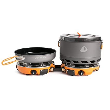 Jetboil Genesis Basecamp Camping Cooking System Amazon.com :