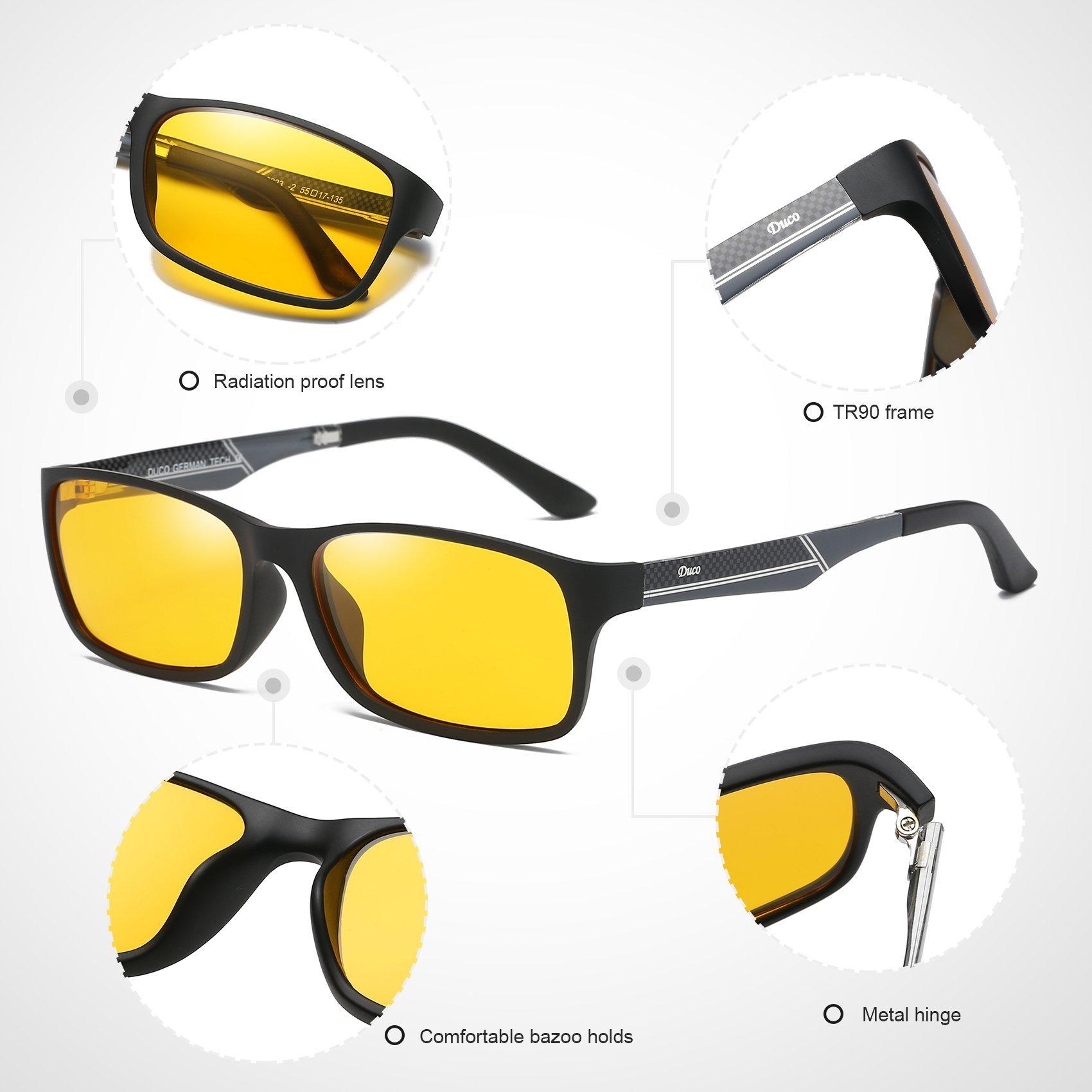 471c499326 DUCO Glasses for Video Games 223 PRO Anti-Glare Protection Anti-Fatigue  Anti UV