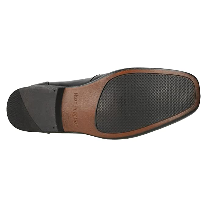 Hush Puppies Mens Coach II Lace-Up Slip On Leather Formal Shoes: Amazon.es: Deportes y aire libre