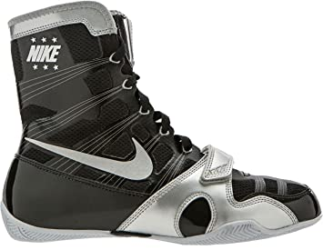 Amazon.com: Nike HyperKO Boxing Shoes(Black/Silver, 7 D(M) US ...