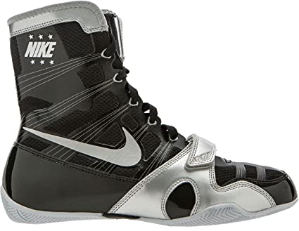 708a2b4c139a Amazon.com  Nike HyperKO Boxing Shoes(Black Silver