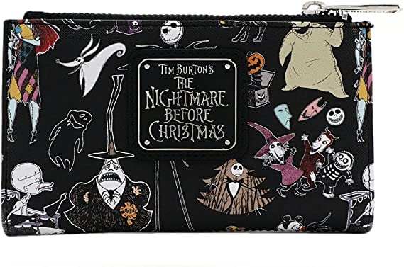 12pcs//lot The Nightmare before Christmas Short Trifold Wallet PVC Purse Gifts