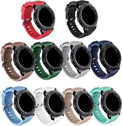 Amazon.com: GinCoband Samsung Gear S3 bandas accesorios de ...