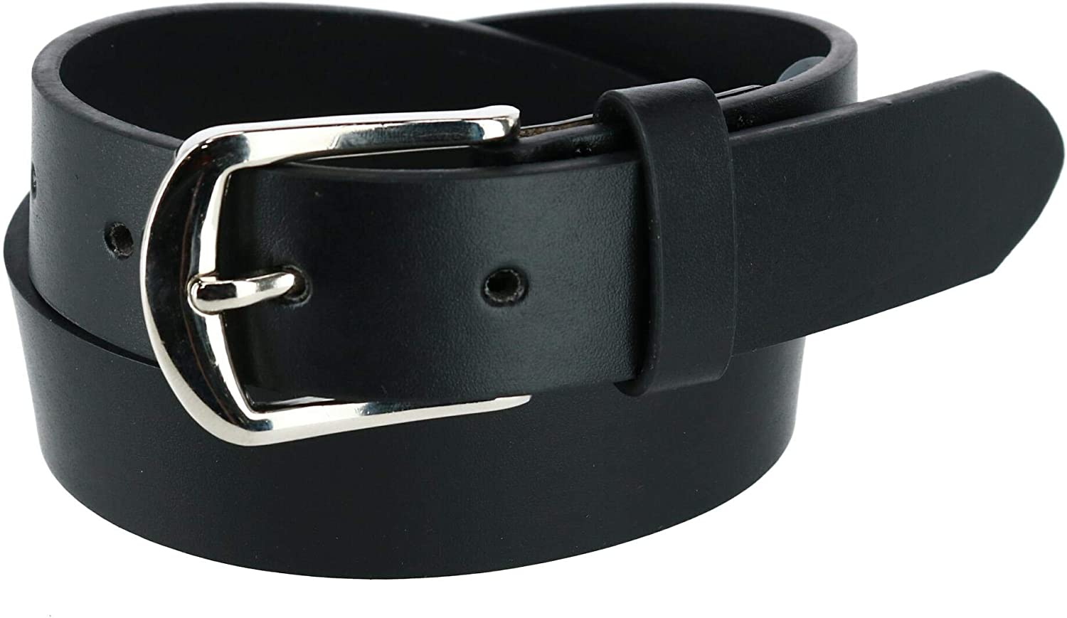 Pack of 2 Aquarius Girls Perforated Belt and Solid Belt