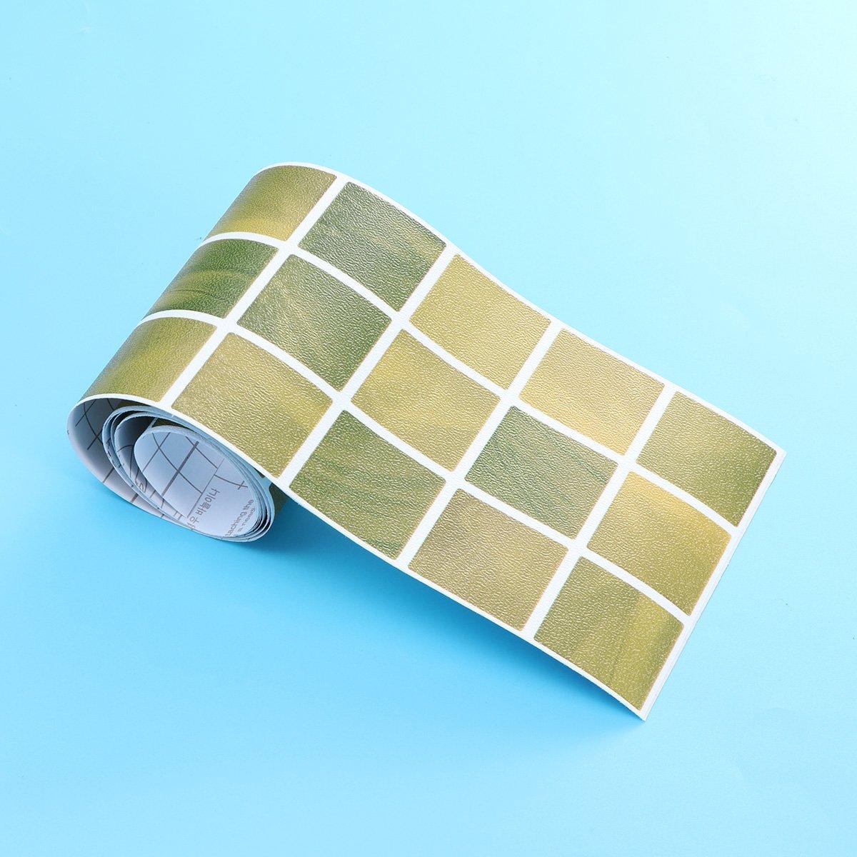 BESTONZON Selbstklebender Mosaik Fliesen Aufkleber Entfernbarer  Wasserdichter Marmor Entwurf Schälen Und Haften Backsplash: Amazon.de:  Küche U0026 Haushalt