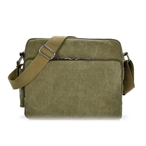 Amazon.com: Bolsas de lona multifunción para hombre para ...