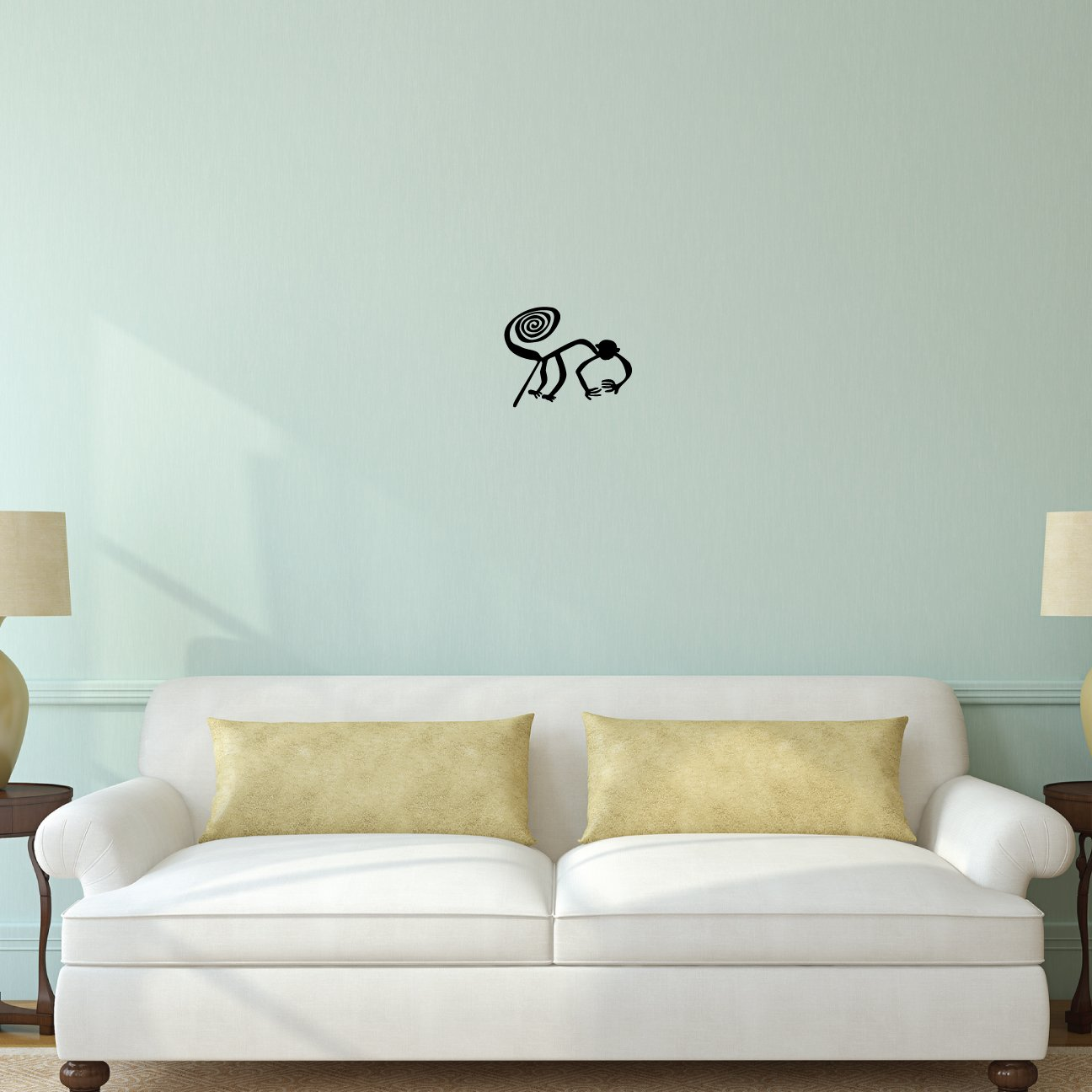 Amazon Nazca Lines Monkey Wall Decal Sticker 1 Decal Stickers