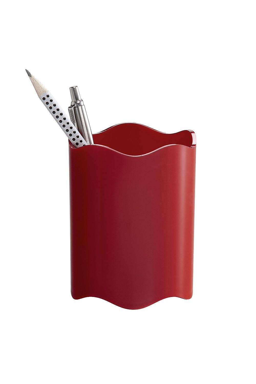 Altezza 102 mm Durable 1701235400 Portapenne Dimensioni: /Ø 80 mm Confezione da 1 Pezzo Trasparente
