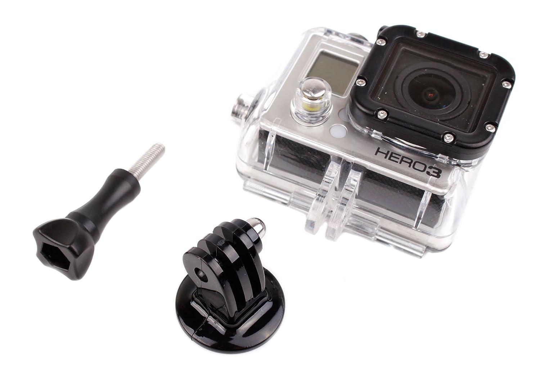 Support Fixation Ajustable Rotatif pour cam/éscope GoPro Tous mod/èles 1, 2, 3, HD3+, Hero4, Hero, Outdoor, HD etc. DURAGADGET Kit de Montage v/élo