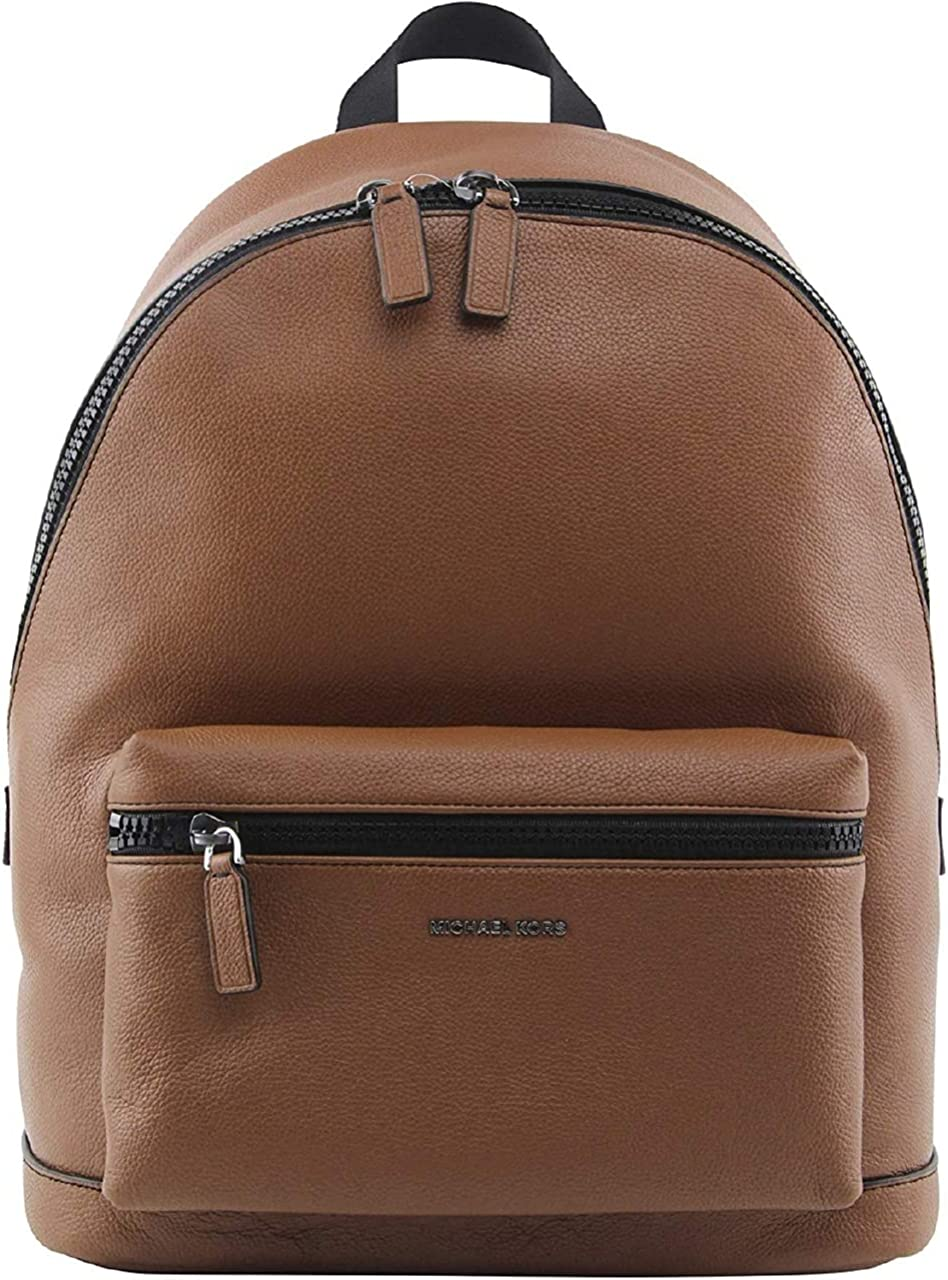 Michael Kors 5% OFF Men's Cooper Pebbled In S Ranking TOP2 Leather Backpack Luggage