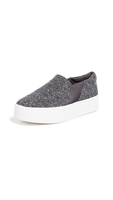 8ade348a9e Amazon.com  Vince Women s Warren Slip On Sneakers