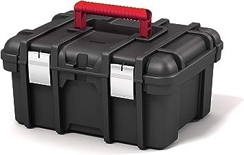 Keter 238279 Jumbo - Caja de herramientas (16 pulgadas, tamaño mediano): Amazon.es: Bricolaje y herramientas