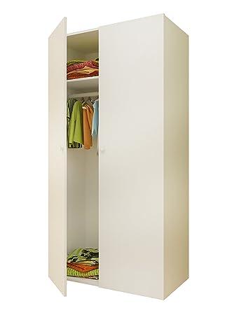Polini Kinder Einfache Collection Zwei Unterteilte Kleiderschrank ...
