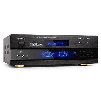 auna AMP-5100 • Home cinema • Sonido envolvente 5.1 • Amplificador • 1200 W