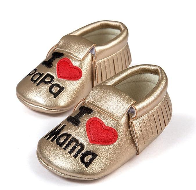 Scarpine neonati Inception Pro Infinite ® - S7 - Zapatos de Bebé Me encantan Mamá y Papá - 18 aaMEKOo
