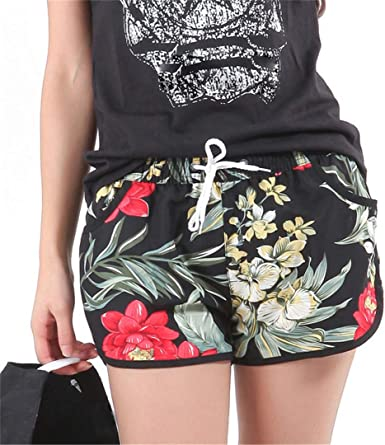 Amazintg Splatter Paint Mens Casual Summer Beach Pants Quick-Dry Swim Trunks Board Shorts