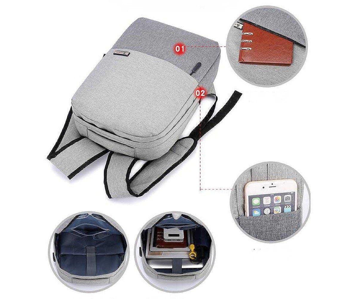 Mochila De Carga USB Para Hombres Mochilas De Computadora Multifunción Viaje Bolsas De Viaje Multifunción Bolsas De Negocios 215001
