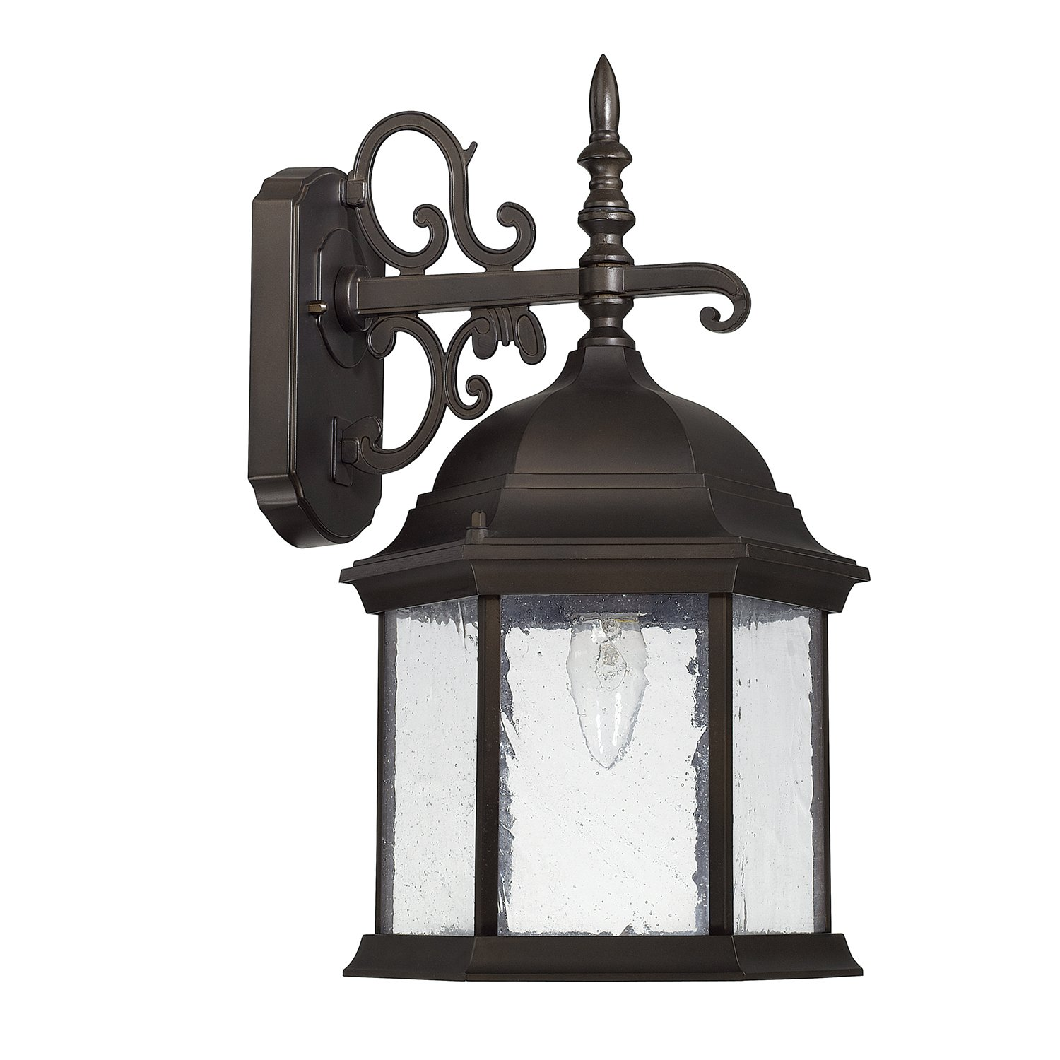 Capital Lighting 9833OB Six Light Outdoor Wall Lantern