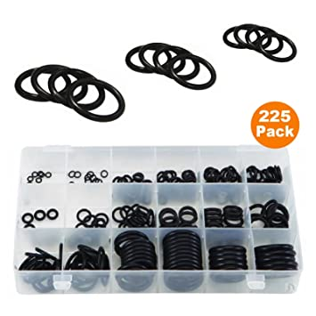 Amazon.com: 225 x Imperial Rubber O-Ring Seals Tap Washer Plumbing ...