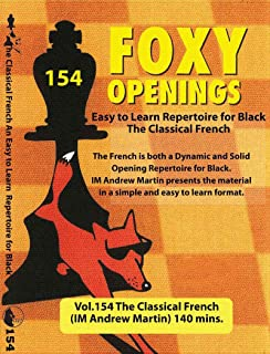 The Classical French–im Andrew Martin–Foxy 154