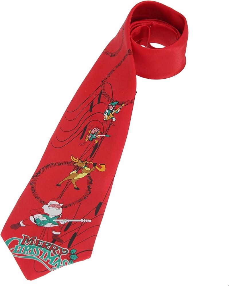 CHRISTMASSHOP Christmas Shop - Corbata navideña Musical para ...