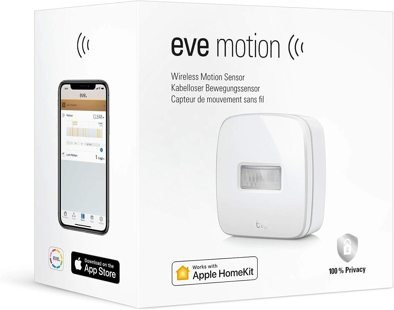 Eve Motion - Capteur de mouvement sans fil, protection IPX3 pour l'étanchéité...