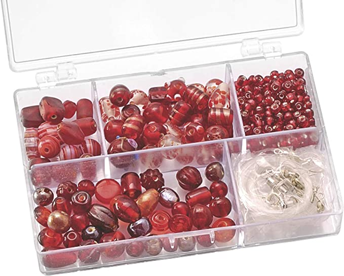 Gütermann / KnorrPrandell 6049150 - Caja con perlas de cristal ...