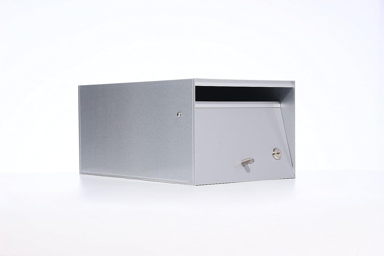 Box Design ポスト 郵便受け Urban Silver B00W6HVEYQ 28620 Silver Silver