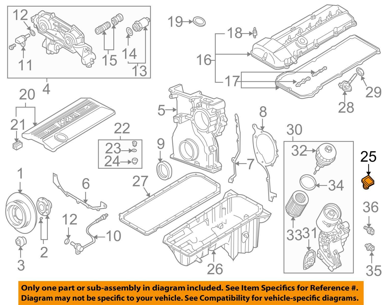BMW 11-12-7-509-328 Cap for Oil Filler :111043