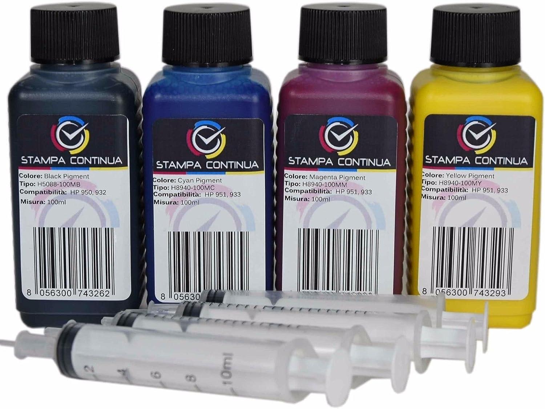 Kit Recarga Cartuchos HP 950/951, 950XL / 951XL Negro y Color para ...