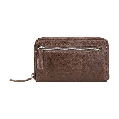 Cowboysbag Portemonnaie Geldbörse Purse Sula Taupe Braun