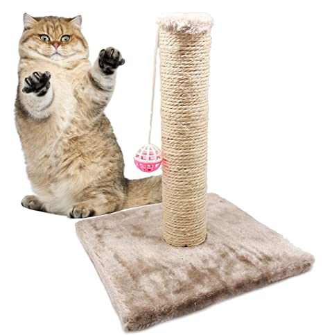 BPS® Juguete Rascador para Gatos con campana, Scraper para Gato, Animales Domésticos Diferente