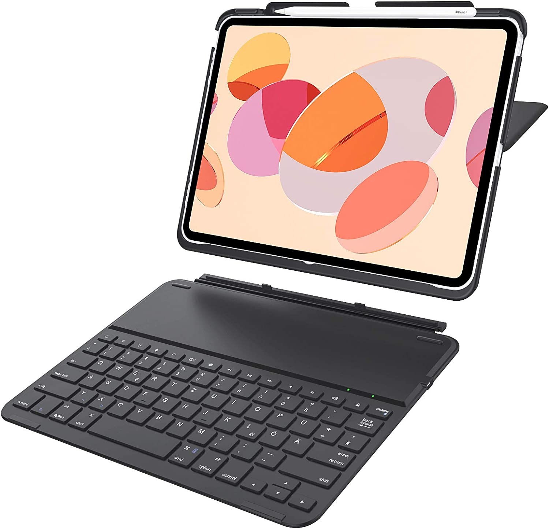 Yoozon 11 Ipad Pro 2018 Bluetooth Tastatur Mit Hülle Computer Zubehör
