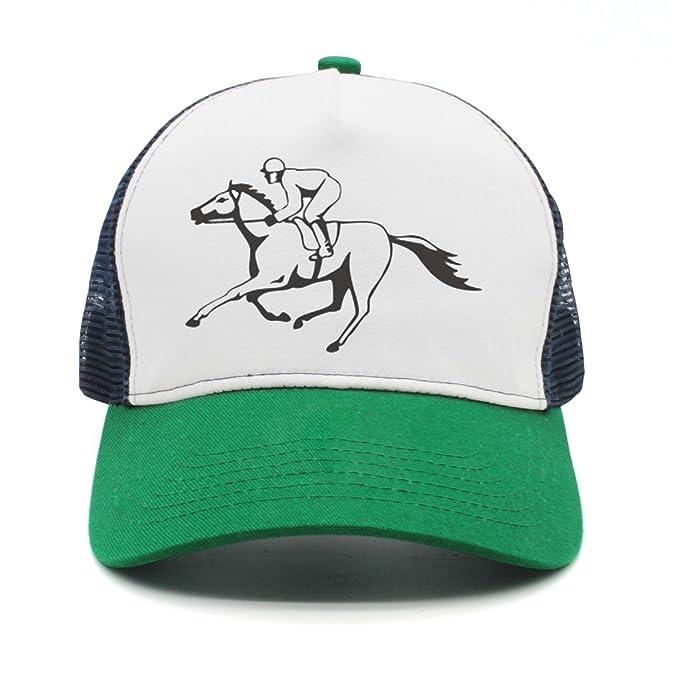 0af3a98464e Eoyles Horse Racing (2) Adjustable Size Visor Hat Summer Cap Vintage Unisex  Bucket-