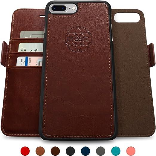 60 opinioni per Dreem Fibonacci iPhone 7 Plus scustodia e portafoglio, sfoderabile, 2 opzioni