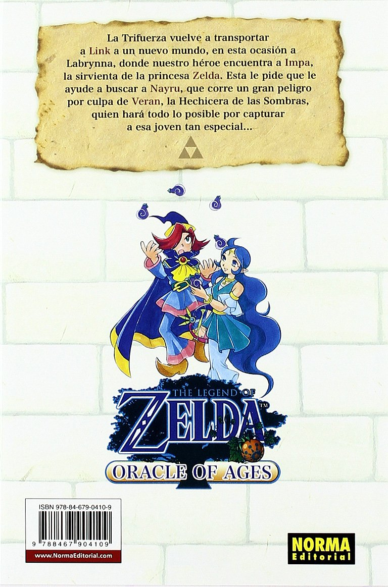 Download The Legend of Zelda 7: Oracle of Ages (Spanish Edition) ebook