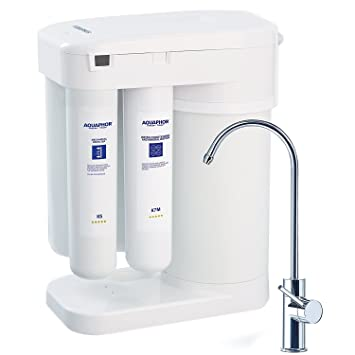 Aquaphor Water Filters RO 101 Reverse Osmosis Water Filtration System 7  Stage Non Electric Compact