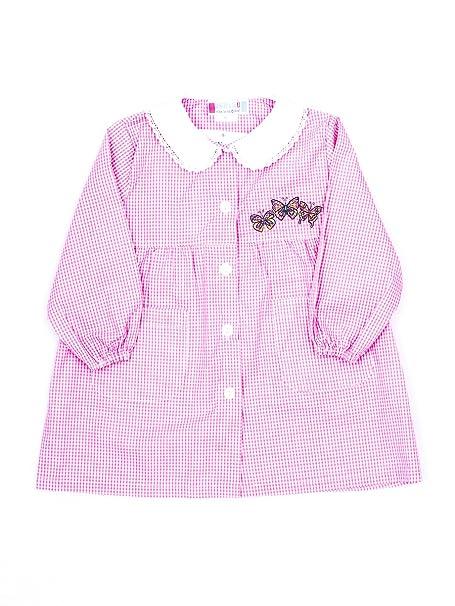 6f37ba1bb0 Andy&Giò Grembiule asilo bambina 90068 grembiule quadri rosa (Quadri rosa,  2 anni): Amazon.it: Abbigliamento