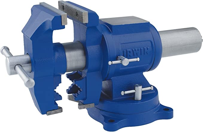 best bench vise: IRWIN 4935505 your best multi-purpose option