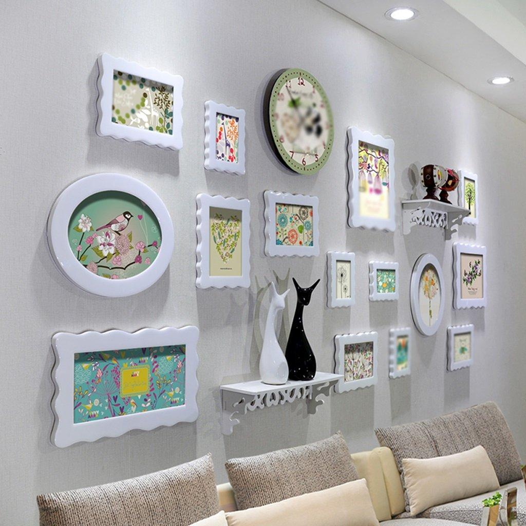 que l Photo Mur Cadre Mur Cadre créatif Combinaison Salon Chambre Photo Mur Mur Cadre Combinaison Crystal Paint