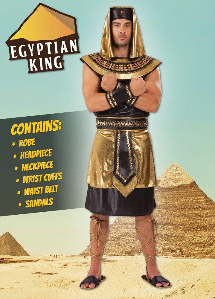 Bristol Novelty AC641 Costume da Re Egiziano