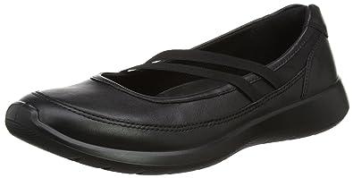 Ecco Damen Soft 5 Slipper, Schwarz (Black/Black), 40 EU